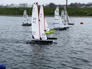 Argo Engineering sponsored the International Mini40 regatta