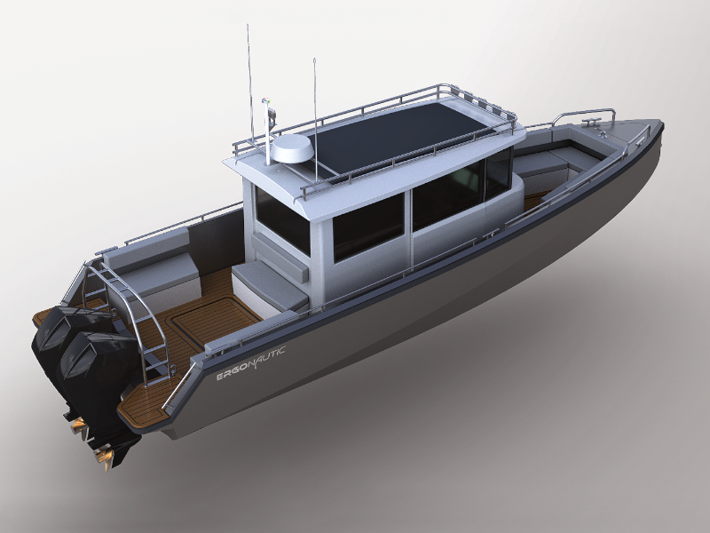 Full detail design for 32ft robust yacht / workboat