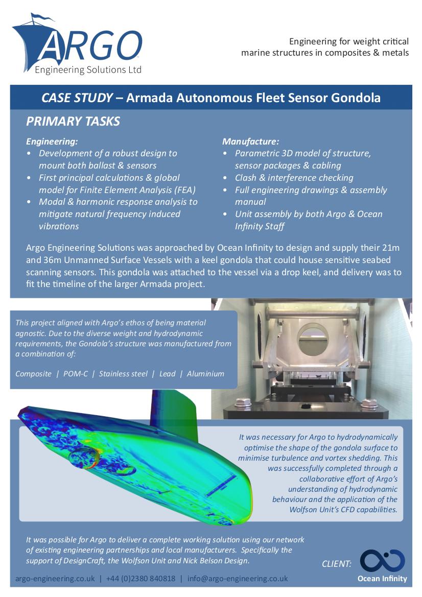 Armada Autonomous Fleet Sensor Gondola